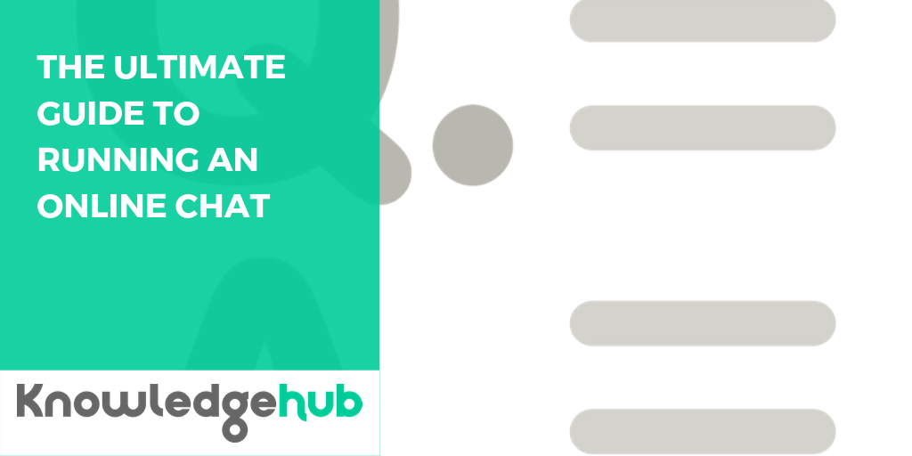 Guide - The ultimate guide to running an online chat in your Knowledge Hub group