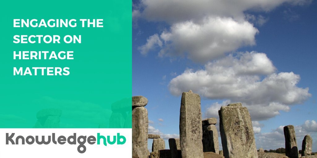 Case studies - Engaging the sector on heritage matters