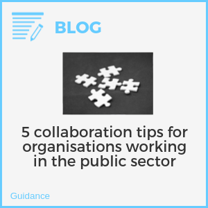 5 collaboration tips for organisations working in the public sector