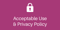 Acceptable use and privacy