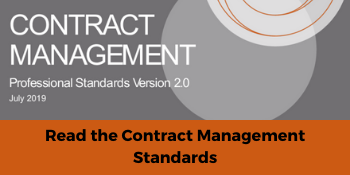 Contract management standards