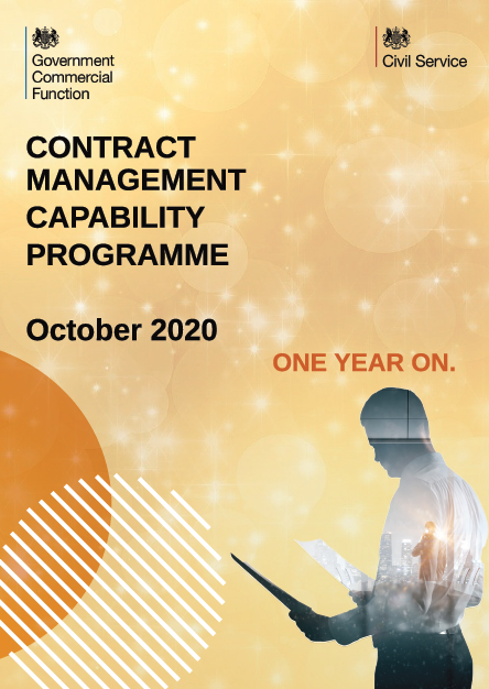 Contract Management Capability Programme one year on PDF