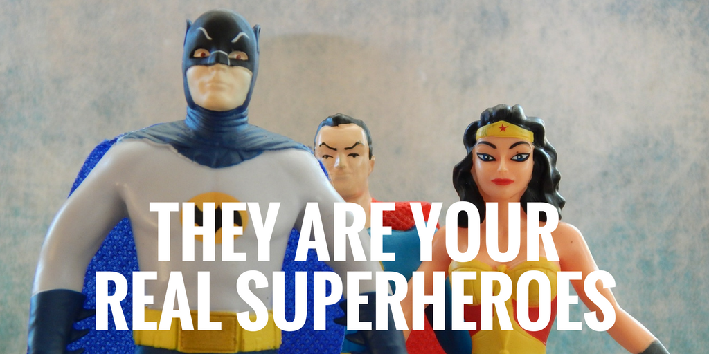 Community managers/facilitators - they are your real superheroes