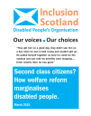 Inclusion Scotand WR impact report