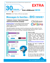 30 hours free childcare NEWS EXTRA