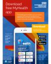 My Health app poster