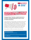Teenage Cancer Trust education programme flyer