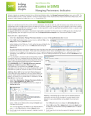 Managing Performance Indicators quick reference guide