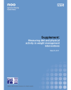 Measuring diet and physical activity in weight management interventions - Supplement