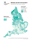 Fast food outlets by local authority