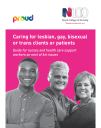 Caring for LGBT clients and patients