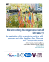 Celebrating Intergenerational Diversity An evaluation of three projects working with younger and older Lesbian, Gay, Bisexual and Transgender people
