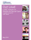 Out Loud LGBT Voices in Health and Social Care