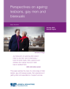 Perspectives on ageing lesbians, gay men and bisexuals