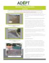 ADEPT Flood Alleviation Schemes newsletter