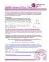 Flood Risk Management Plans - consultation response briefing note - Feb 2013