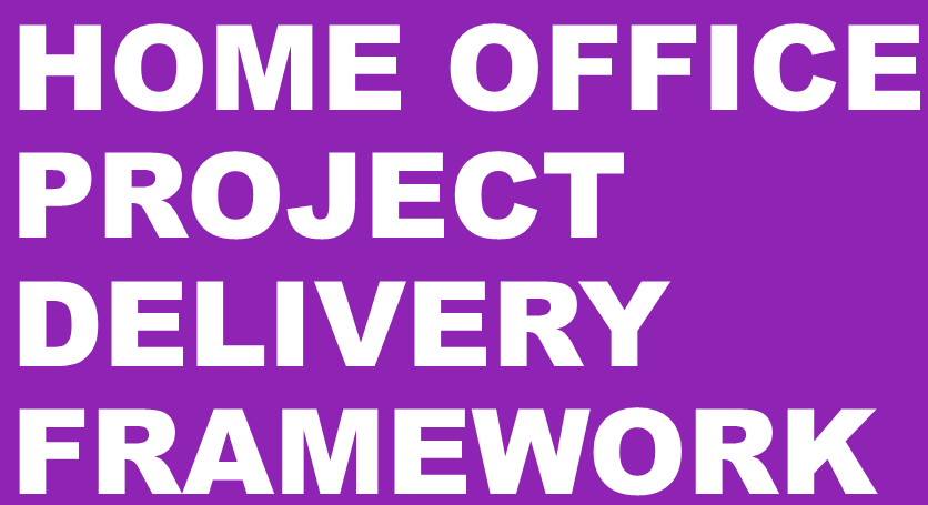 Home Office Project Delivery Framework Logo