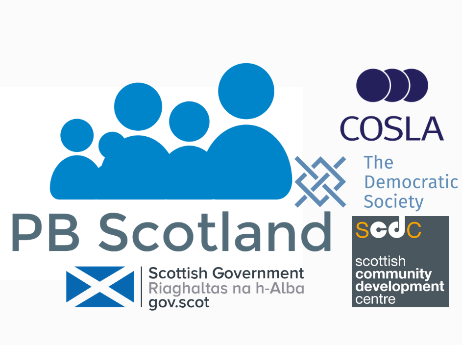Mainstreaming Participatory Budgeting in Scotland Logo